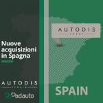 Nuove acquisizioni Autodis Spagna